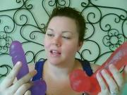 Crystal Jellies Ballsy Cock Realistic Dildo Review