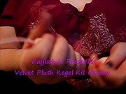 Velvet Plush Kegel Kit Review