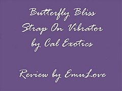 Butterfly Bliss Strap On Vibrator Review