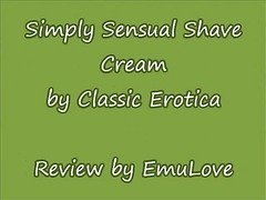 Simply Sensual Shave Cream Review