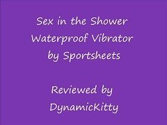 Sex in the Shower Waterproof Vibrator Slideshow