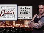 Nick Hawk kegel balls by Cal Exotics - Commercial