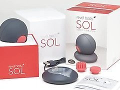 Revel body SOL sonic vibrator by Resonant Systems, Inc. - Commercial
