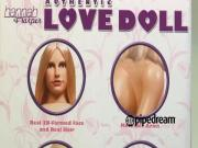 Hannah Harper Authentic Love Doll by Pipedream - Commercial