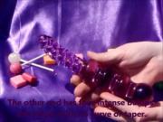 Violet Wonder Glass Dildo Review