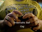 Breathable Ball Gag Mouth Gag Review