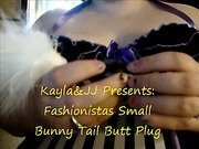 Fashionistas Small Bunny Tail Butt Plug Review