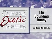 Lia Bounding Bunny by California Exotic Novelties - Commercial