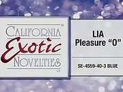 "Lia Pleasure ""O"" by California Exotic Novelties - Commercial"