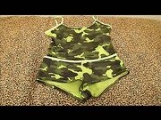 Camoflage Short And Cami Set Review