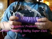 Softee Vibrating Ballsy Super Cock 6 Inch Realistic Vibrator Review