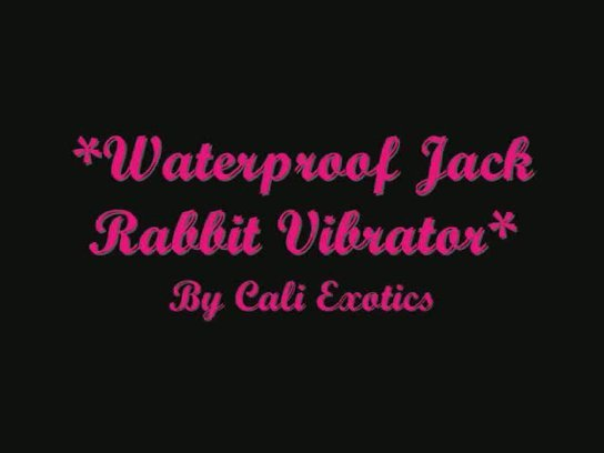 Waterproof Jack Rabbit Vibrator Review