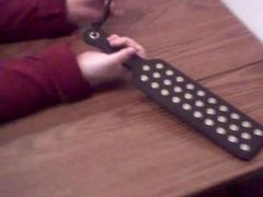 Studded Paddle Review by Mistress Kay