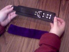 Purple Fur Lined Wrist Restraints Review