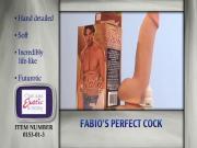 Fabio My Perfect Cock Realistic Dildo Commercial