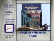 Universal Water Works System Douche and Enema Kit Commercial
