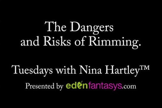 Tuesdays with Nina - The Dangers and Risks of Rimming.