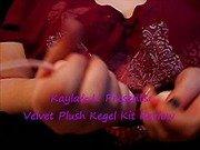 Velvet Plush Kegel Kit Review