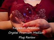 Crystal Premium Medium Plug Butt Plug Review