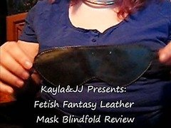 Fetish Fantasy Leather Mask Blindfold Review