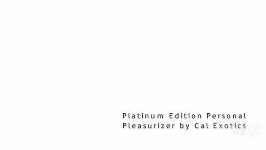 Platinum Edition Personal Pleasurizer Slideshow