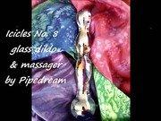 Pipedream Icicles No.8 Glass Dildo Slideshow
