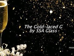 Gold-laced G Glass Dildo Slideshow