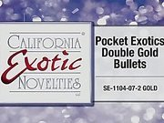 Pocket exotics double bullet by Cal Exotics - Commercial