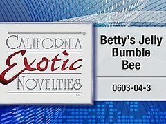 Betty's jelly bumble bee by Cal Exotics - Commercial