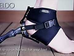Heeldo strap-on harness by DeVille Multimedia LLC - Commercial