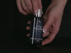 Fifty Shades of Grey silky caress lubricant by LoveHoney - Commercial