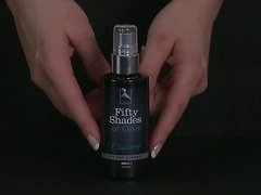 Fifty Shades of Grey cleansing sex toy cleaner by LoveHoney - Commercial