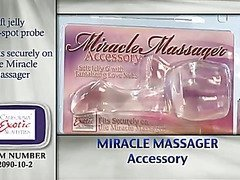 Miracle massager accessory G-spot by Cal Exotics - Commercial