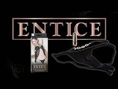 Entice crotchless vibrating panty by California Exotic - Commercial