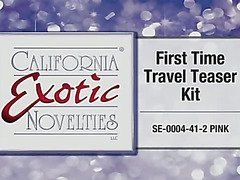 First Time travel teaser kit by California Exotic - Commercial