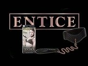 Entice posture collar with leash by Cal Exotics - Commercial