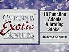 Adonis vibrating stroker by Cal Exotics - Commercial