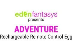 Adventure Rechargeable Remote Control Egg by Eden Toys - Commercial
