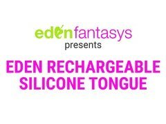 Eden rechargeable silicone tongue by Eden Toys - Commercial