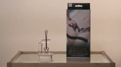 Entice crystal intimate clip by California Exotic - Commercial