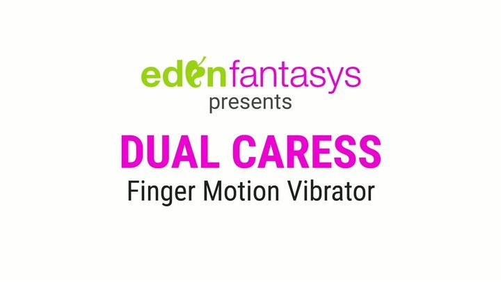 Eden dual caress finger motion vibrator by Eden Toys - Commercial