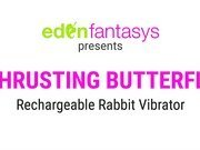Rechargeable thrusting butterfly by Eden Toys - Commercial