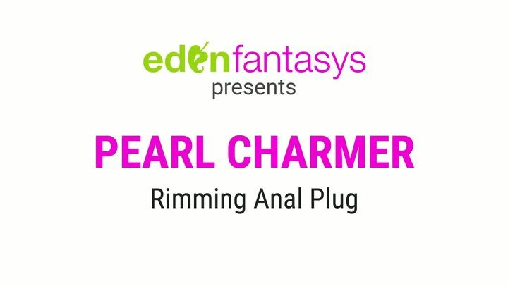 Pearl charmer rimming plug by Eden Toys - Commercial