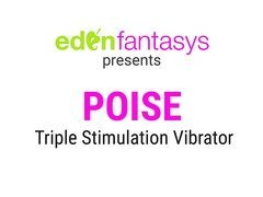 Poise -Triple Stimulation Vibrator