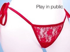My secret screaming O charged panty vibe by Bushman Products - Commercial