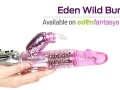 Eden wild bunny with rotating beads by Eden Toys - Commercial