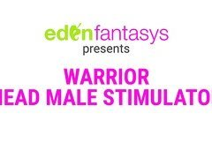 Warrior head male stimulator by Aphrodisia - Commercial