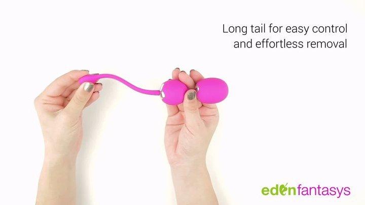 Quiver vibrating spheres by EdenFantasys - Commercial