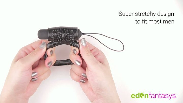 Power ring with remote control by EdenFantasys - Commercial