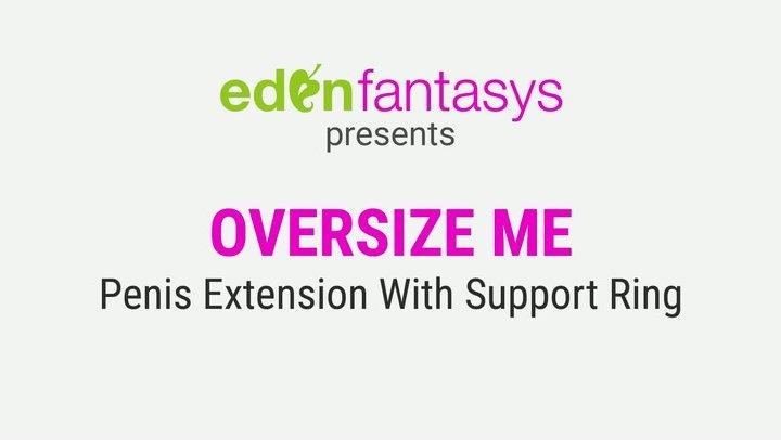 Oversize me by EdenFantasys - Commercial